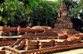 Chiang Mai, Thailand: Temple Ruins at Wat Pupia — Stock Photo