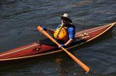 Mystic, CT: May in Kayak — Stock Photo