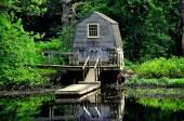 Concord, MA: Sudbury River Boathouse — Stock Photo