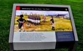 Baltimore, MD: Historic Sign at Fort McHenry — Stock Photo