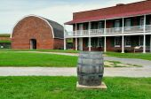 Baltimore, MD: Fort McHenry — Stock Photo