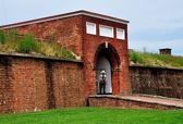 Baltimore,MD: Sally Port Entrance to Fort McHenry — Stock Photo