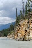 Athabasca River — Zdjęcie stockowe