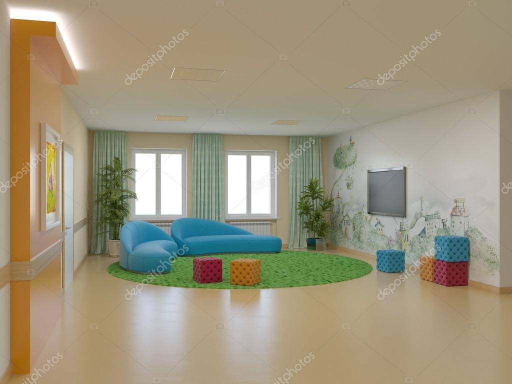 Interior Design Children 39 S Hospital Stock Photo 90565840