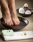 Foot Spa Background — Stock Photo