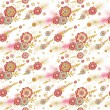 Floral pattern — Stock Vector #52443777