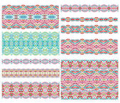 Decorative border patterns — Stock Vector