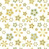 Decorative floral pattern — Stock Vector