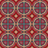 Decorative seamless ethnic pattern — Stock Vector