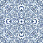 Decorative laced seamless pattern — Stock Vector