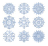 Rosetones decorativos — Vector de stock