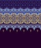 Seamless decorative pattern — Stock Vector