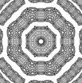 装飾的なロゼット — ストックベクタ