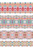 Paisley pattern in batik style — Stock Vector