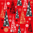 Christmas wrapping paper — Stock Vector #59270239