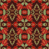 Floral pattern with pomegranates — Stockvektor