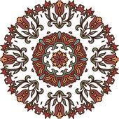 Decorative rosette — Stock Vector