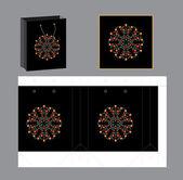 Gift pocket design — Stock Vector
