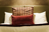Bedding and Pillows — Stock Photo