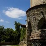 Zleby castle, Czech Republic — Stock Photo #76522489