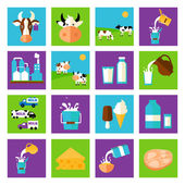 Vector milk icon — Stock Vector