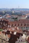 View on the autumn Prague City, Czech Republic — Stock Photo