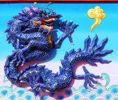 Colorful Chinese Dragon, celebration New Year — Stock Photo