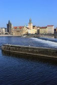 View on the Prague Old Town, Czech Republic — Stock Photo