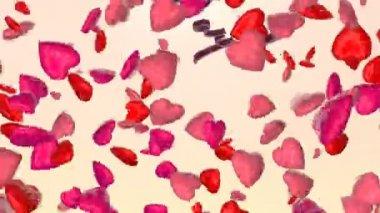 Tarjeta de san valentín — Vídeo de Stock