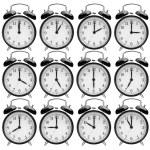 Alarm clocks — Stock Photo #51985769