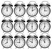 Alarm clocks — Stockfoto
