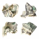 Collection dollar bills — Stock Photo