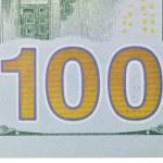 Dollars bill macro — Stock Photo #56111869