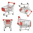 Shoping carts — Stock Photo #72009595