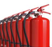 Fire extinguishers — Stock Photo