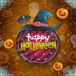 Happy Halloween card — Stock Vector #52095287