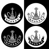Hookah set — Stock Vector