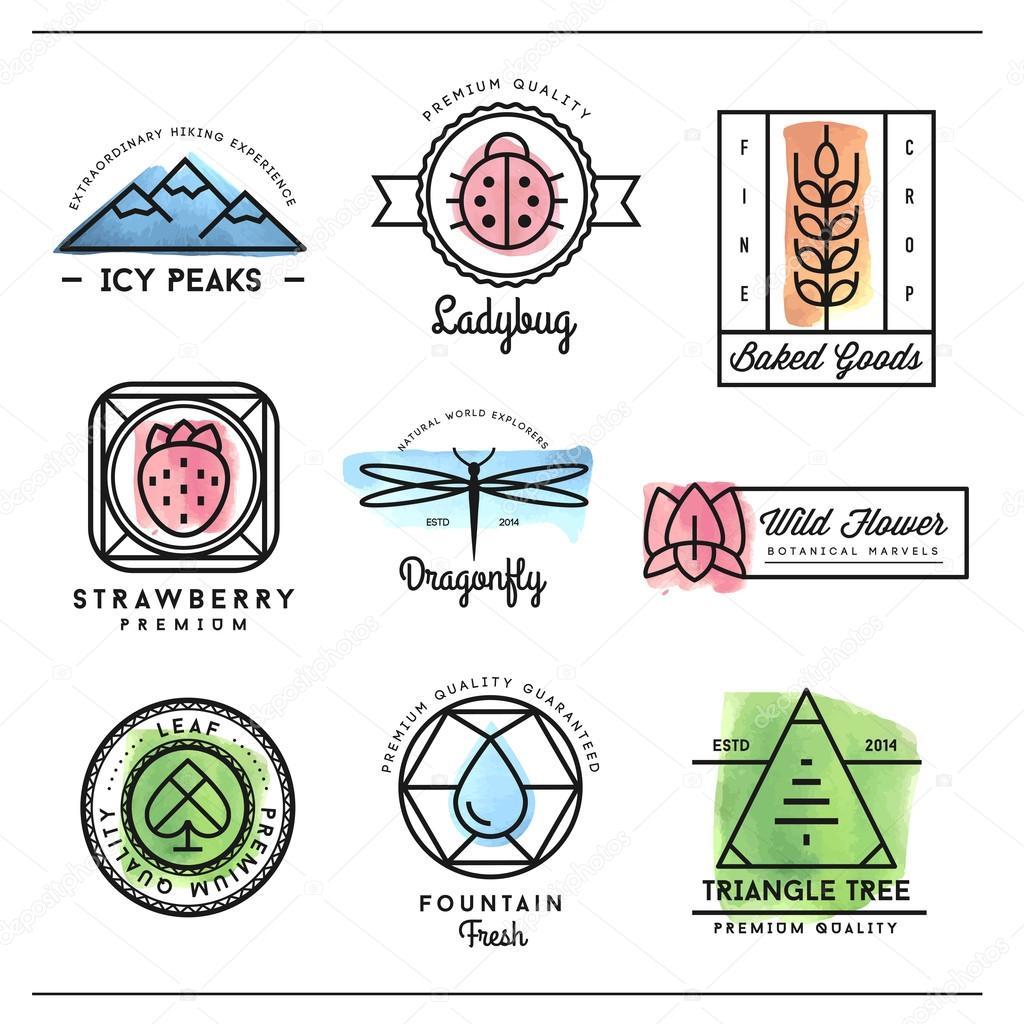 Эмблемы про природу картинки