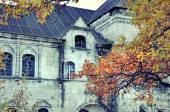 Castle in autumn — Stock Photo