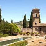 Park Alhambra, Granada, Spain — Stock Photo #57312383