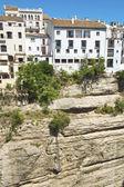 Vista panorâmica de ronda, andaluzia, espanha — Fotografia Stock