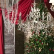 Vintage crystal chandelier — Stock Photo #58013687