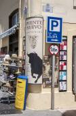 Ronda, Spain - May 6, 2014. Streets in the white town of Ronda, — Stock Photo