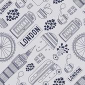 Vector London symbols — Stock Vector