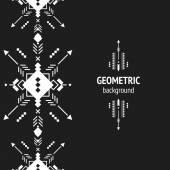Geometryczne tło wektor — Wektor stockowy