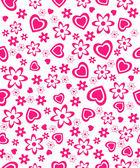 valentine's day seamless, pattern. — Cтоковый вектор