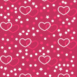 Valentine's day seamless, pattern — Stock Vector #55843669
