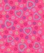 valentine's day seamless, pattern — Vecteur