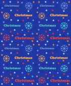 Pattern christmas, snowflakes — Stock Vector