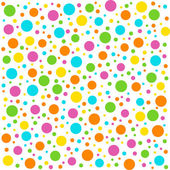 Geometric  seamless,pattern with circles. — Stock Vector